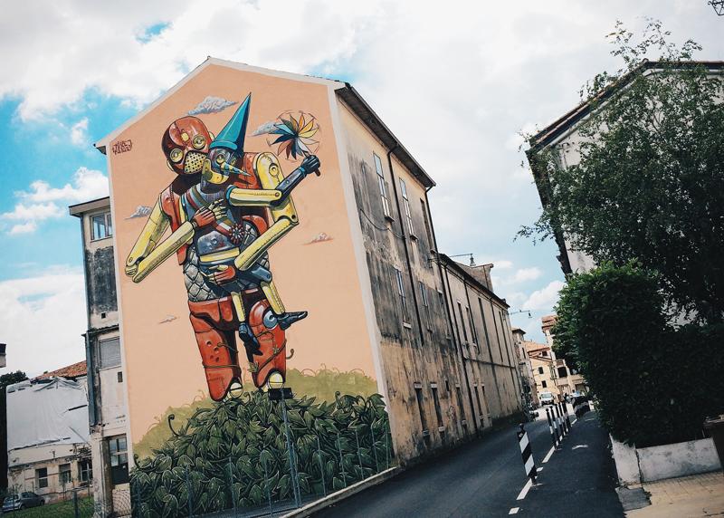 street art bassano del grappa italy